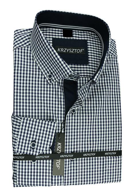 KRZYSZTOF koszula XL 43 44 170176 dł. klasyczna WX36K  6yABK